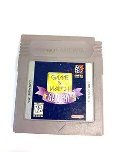 Game & Watch Gallery Original Nintendo Gameboy Game - Tested - Working