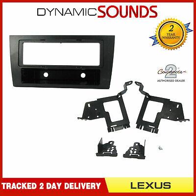 CT24LX06 Double Din Fascia Panel Adaptor Black for Lexus GS300 1998-2005