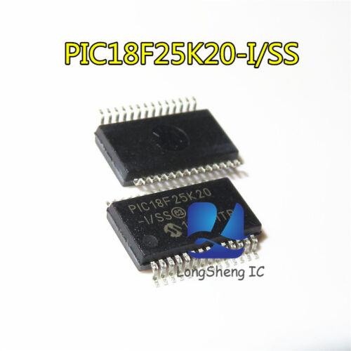 5PCS  Micro control of single chip microcomputer PIC18F25K20-I//SS SSOP28 NEW