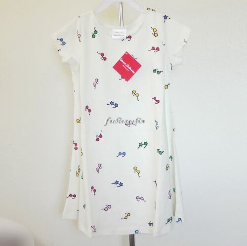 retail $36 NWT Hanna Andersson 100/% Cotton Play All Day Dress Hanna White
