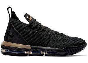 Nike LeBron 16 XVI Im King Black Gold