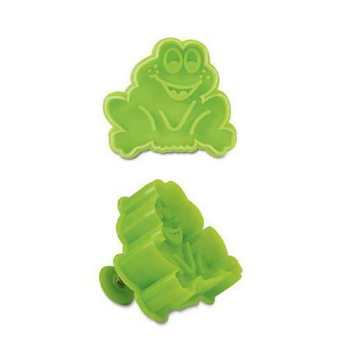 Frog Plastic Embossed 5cm Cookie Cutter