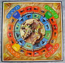 1984 Parker Brothers Frank Herbert's DUNE Original Game Board REPLACE DAMAGED 1