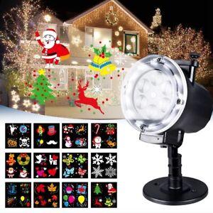 Proiettore Luci Natalizie Per Esterno Ebay.Proiettore Laser Led Rgb Natale Per Esterno Giochi Di Luce Vari Disegni Natalizi Ebay