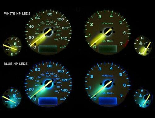 Fits 2004-2006 Subaru Baja Turbo Dash Instrument Cluster White Face Gauges