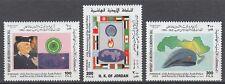 Jordanien Jordan 1998 ** Mi.1665/67 Arabische Liga Arab League Polizei Police