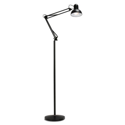 LED Standleuchte mit 3-fach Dimmungin Schwarz oder Silber2700–6500 Kelvin