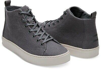 TOMS Lenox Mid Shade Hemp Sneakers Mens