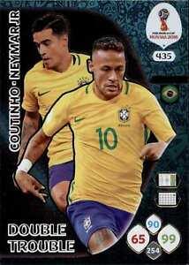 Panini Wm Russia 2018 Nr 435 Philippe Coutinho Neymar Jr
