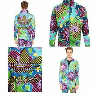280a2fa214a0b Image is loading 300-ADIDAS-amp-JEREMY-SCOTT-Psychedelic-Floral-Shellsuit-