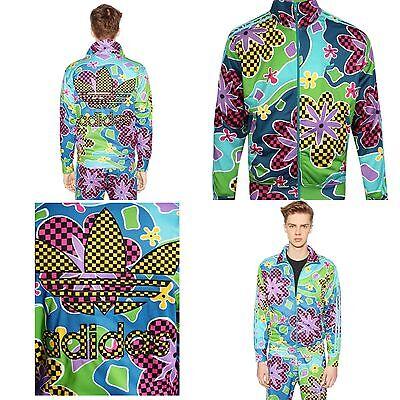 adidas giacca floreale