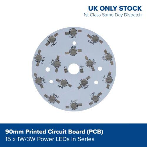 1w 3w LED de encendido Circuitos Impresos Pcb para componentes SMD Diodo serie del grano