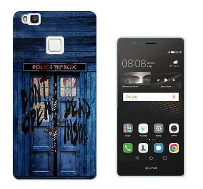 597 Doctor Who Tardis Case Cover For Huawei P8 P9/P8 P9 Lite Honor Y3 5 6 Mate