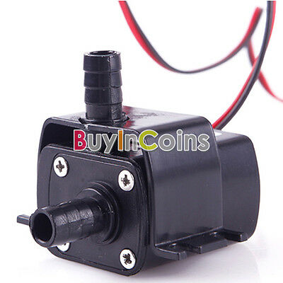 DC 12V 3M 240L/H Ultra-quiet Mini Brushless Motor Submersible Water Pump