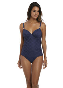 2da570661ce91 Image is loading Fantasie-Tankini-Top-Marseille-Underwire-Gathered-Full-Cup-