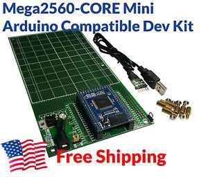 Mega 2560-Core Arduino Mega 2560 Core Micro + Prototyp Board Development Kit USA
