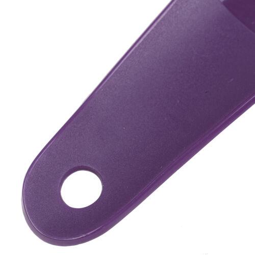 2Pcs 16cm Shoe horns plastic shoe horn spoon shape shoehorn shoe liftB9