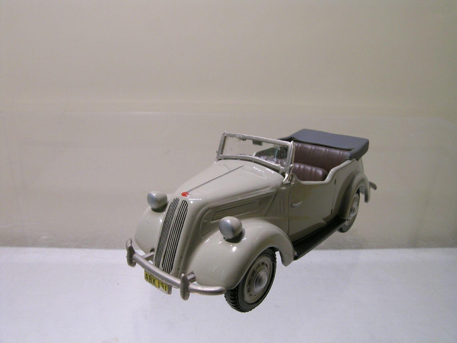 Somerville modelle 117 des ford anglia tourer cabrio grau handbuilt skala 1 43