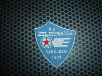 3,5 x 3,5 FK Zeljeznicar Sarajevo-Patch-