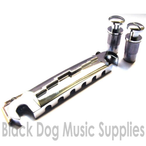 Quality guitar wrap over bridge BM116 in chrome black or gold