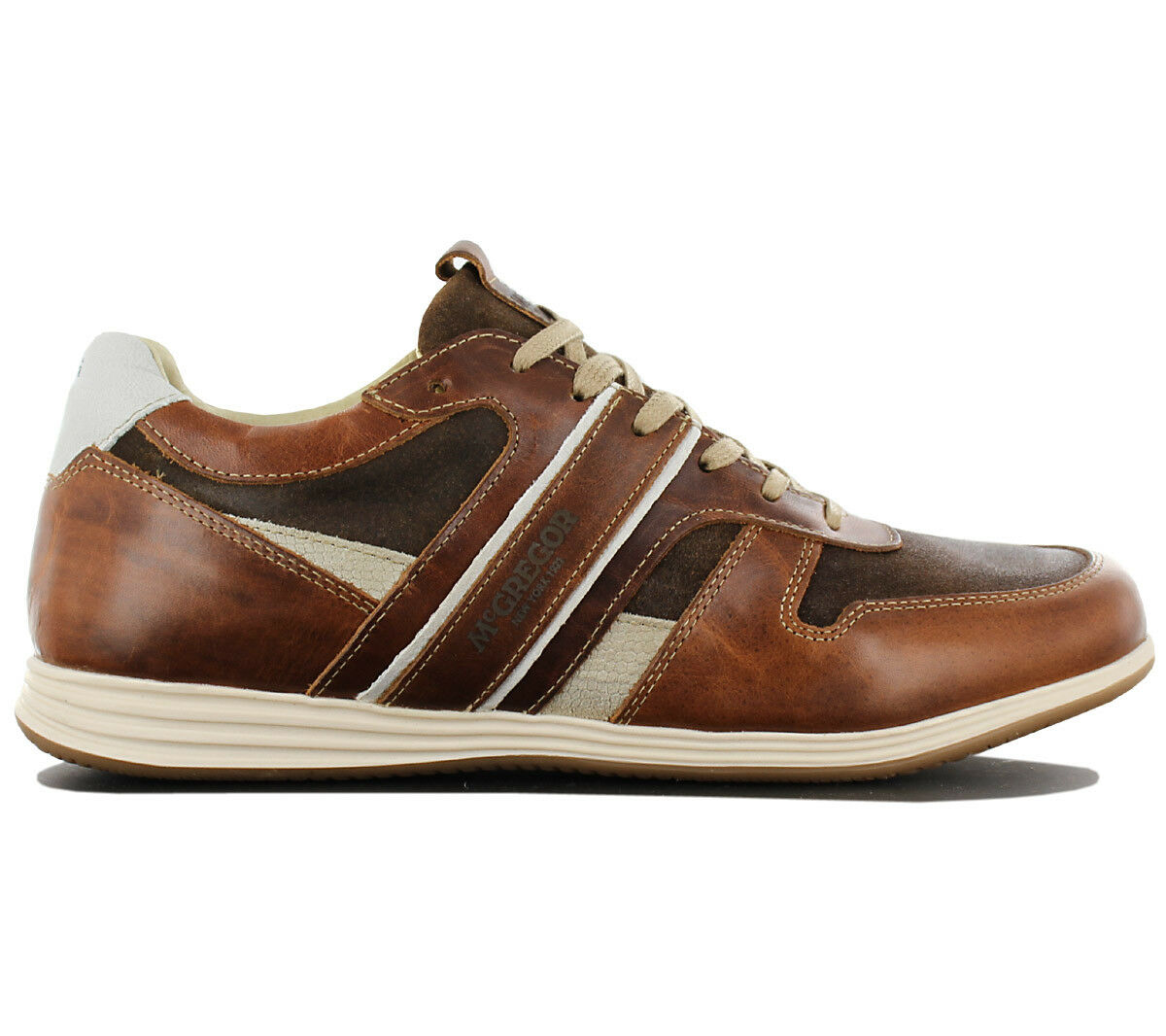 McGregor New York Williams leather chaussures hommes cuir basses mg9060181160