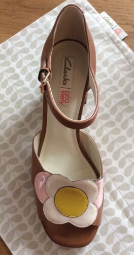 Tan Uk Retro Kiely 41 Orla Eur Wedding Size In 7 Shoes Betty Clarks Vintage nB1nAqxwa6