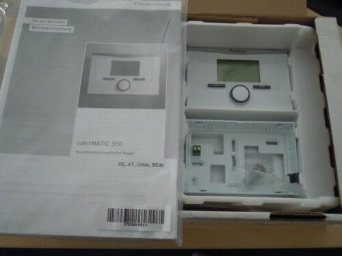 Vaillant calorMATIC 350 RAUMREGLER RAUMTHERMOSTAT VRT 350  ////  VRT350  NEU  OVP
