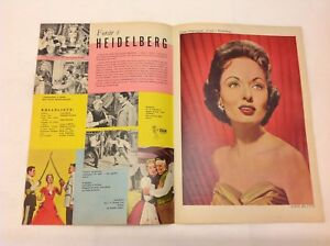 The-Student-Prince-Ann-Blyth-Edmond-Purdom-1954-Danish-Movie-Magazine-Program