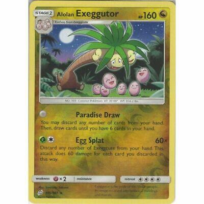 Pokemon ALOLAN EXEGGUTOR 115//181 RARE REVERSE HOLOFOIL NM CARD  TEAM UP