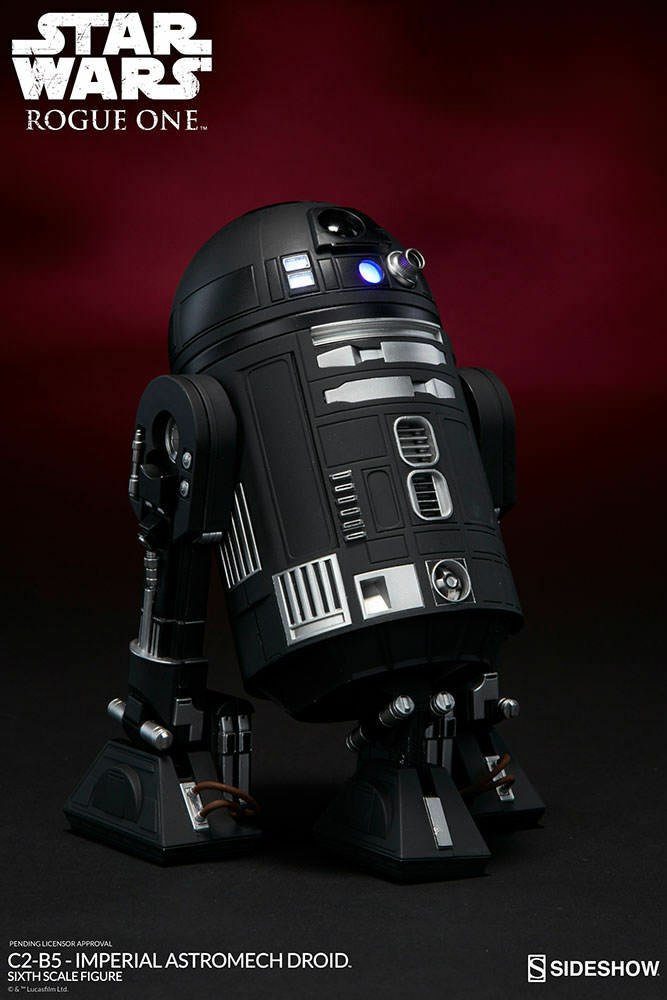1 6 Star Wars C2-B5 Imperial Astromech Droid Sideshow Collectibles
