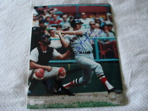 Carl-Yastrzemski-Autograph-Signed-11-x-14-Photo-Boston-Red-Sox-HOF-89