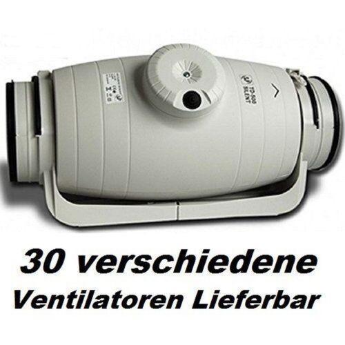 Td-350//125 Silent Rohrlüfter Canal Ventilateur Ventilateur à Tuyaux Ventilateur//Ventilateur