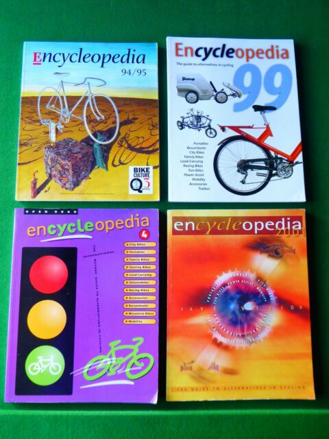 Encycleopedia: The Guide to Alternatives in Cycling by James McGurn, Alan Davids