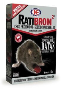 Appât frais super Concentré- poison spéciales contra rats RATIBROM 2 1Kg dxuQIHW6-07221726-672998135