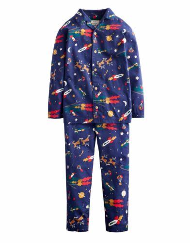 JOULES Nathan Christmas Sleigh Pjamas PJs Age 7-8 9-10 11-12 RRP£31.95 FreeUKP/&P