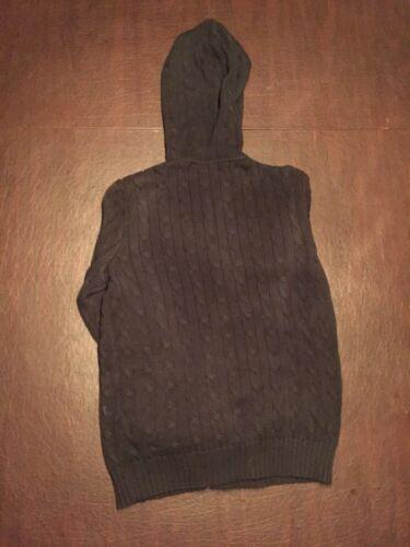 coton Ralph Sport Zip Large Jacket Lauren en noir Tl7 Up Large rYqxr84