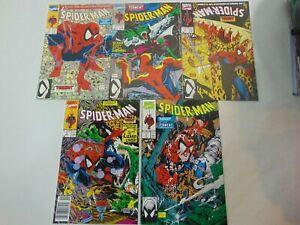 Spider-Man-1-2-3-4-amp-5-Complete-Set-1-to-5-Torment-set