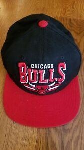 78ee557f9e7 Image is loading Chicago-Bulls-Hat-Mitchell-amp-Ness-Hardwood-Classics-