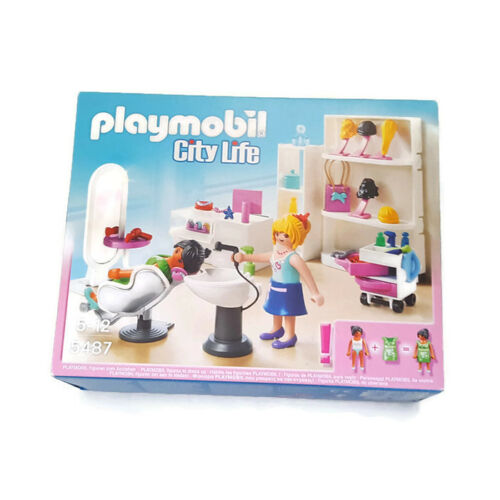 City Life Playmobil Beauty Salon Shopping Centre 5487 Beauty Shop Hair Salon
