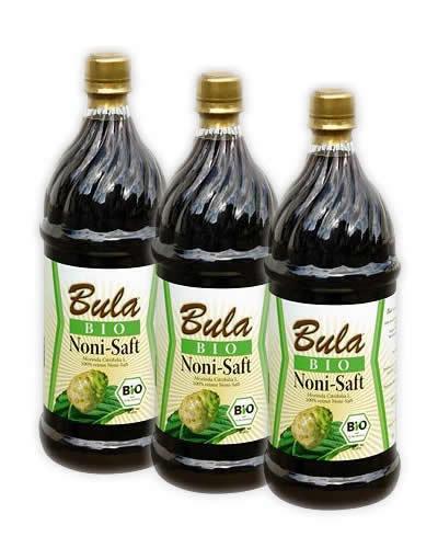 3 Liter (EUR 15,98 / L)  BULA Bio Noni Juice Fiji Inseln