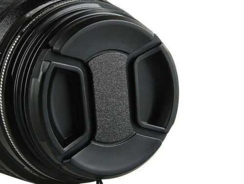 UK STOCK 72mm Universal Front Lens Cap Centre Pinch Snap-on for all Lenses