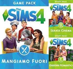 espansioni the sims 4 con gioco originale