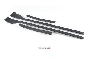 Audi-80-Cabrio-Typ-89-Dekorleistensatz-Tuer-amp-Seitenverkleidungen-3EL-platin