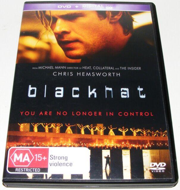 BLACKHAT--- (DVD, 2015)