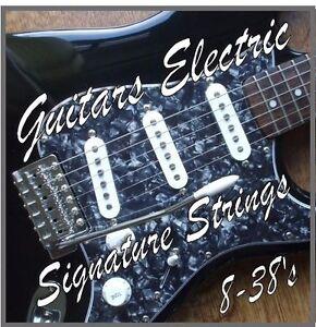 Cordes-pour-Guitare-Electrique-8-38-039-s-Ultra-Light-Gauge-Nickel-Wound-Acier-008-038