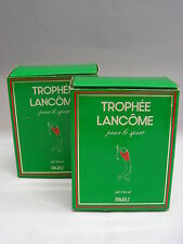 *Lancome - Trophée 2x 40g Seife / Savon / Soap Neu & OVP*