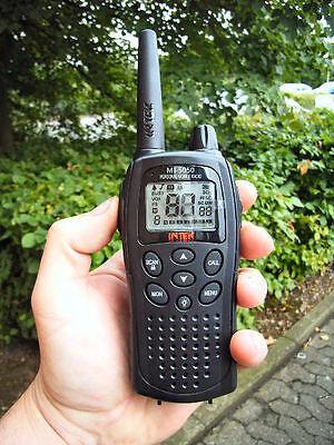Walkie Talkie Intek MT5050 77 Channel PMR446 LPD 4W Modifiable