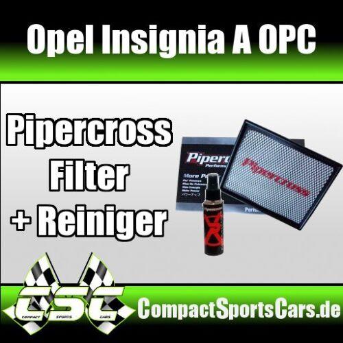 Opel Insignia OPC 2.8i TurboPipercross Sportluftfilter//Tauschfilter