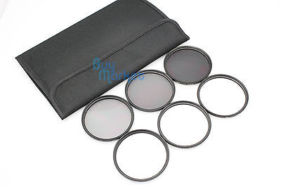 72mm 4X 6X 8X Star CPL Circular Polarizing Lens 4PCS Filter Set with Free Case