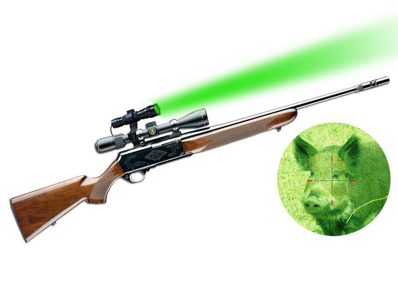 Orion H20-G Green LED Hog Hunting Light w  Optional Pressure Switch Rifle Mounts